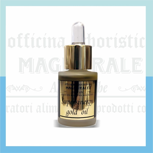 Siero supersinergy gold oil- 15 ml